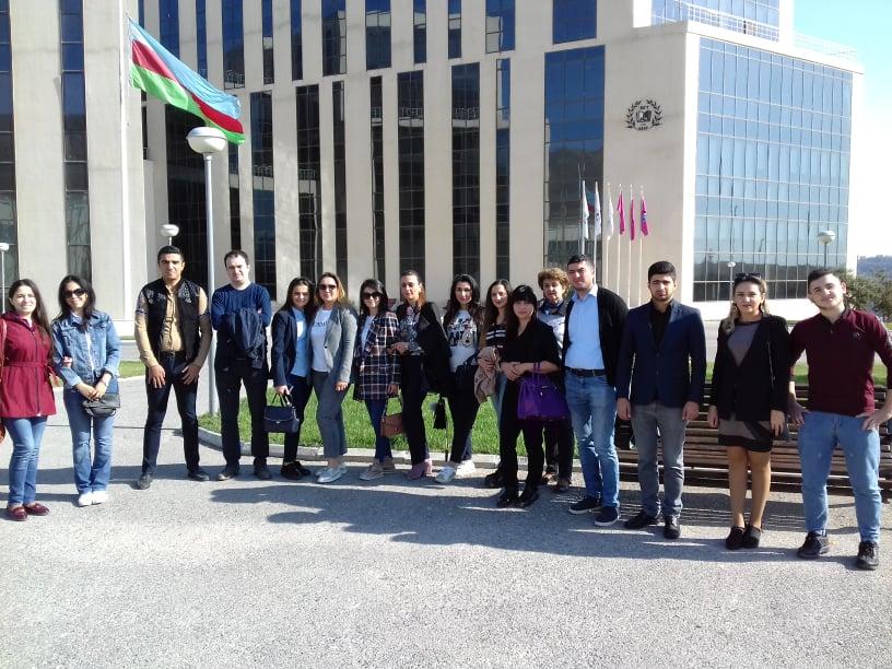 """Əməkdaşlarımız """"Coğrafi imla-2019""""-da iştirak ediblər."""