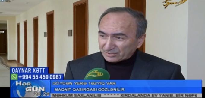 """Səid Səfərov """"Günəşdə maqnit qasırğası"""". 11.02.2019"""