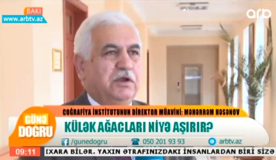 """Məhərrəm Həsənov """"Külək ağacları niyə aşırır"""" 4.12.19"""
