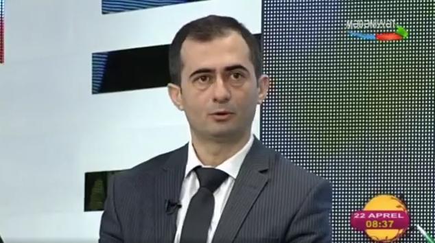 Zaur İmrani Yer Günü münasibətilə Xəzər TV-yə müsahibə verib