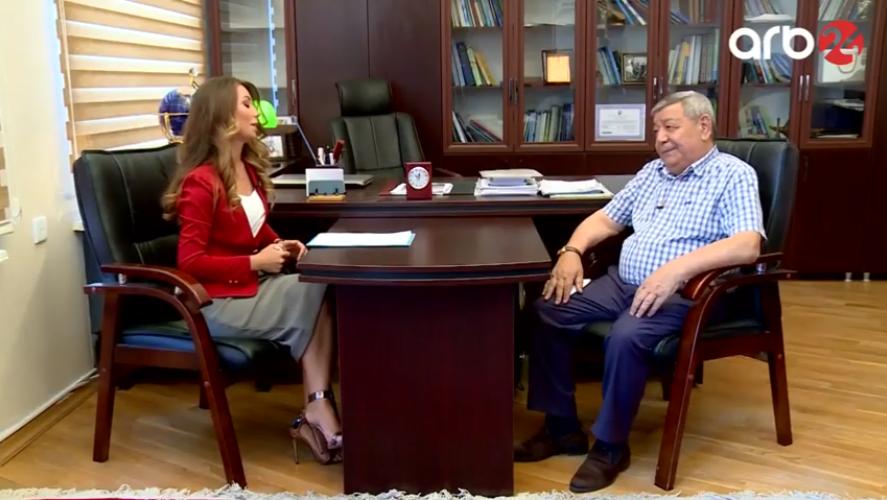 Ramiz Məmmədovun İqlim dəyişmələri haqqında ARB 24 TV-də müsahibəsi