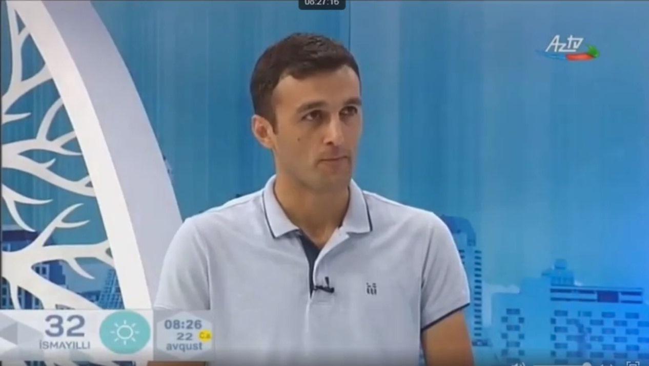 E.Cəbrayılov AzTV-də yay məktəbi haqqında danışıb.
