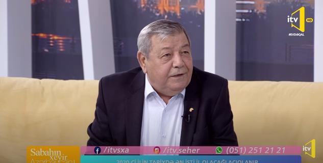 Akademik Ramiz Məmmədov İTV-də 2020-ci ilin ən isti yayı haqqında