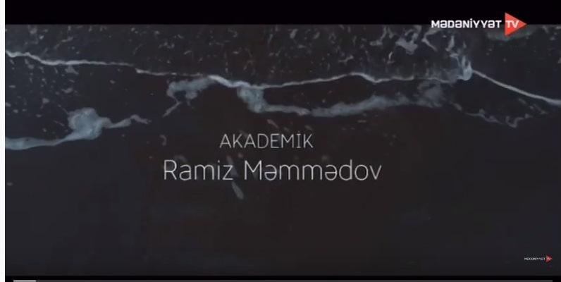 """""""Ömrün dalğaları"""" - Akademik Ramiz Məmmədov - 70"""