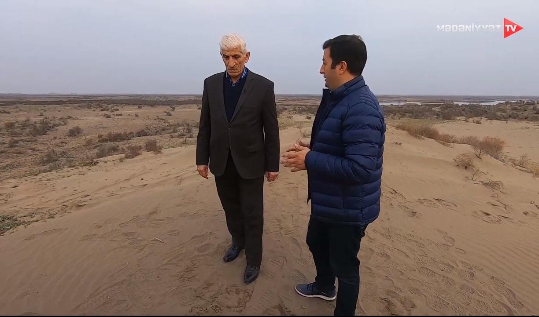 Mil düzündə səhralaşma - Mirnuh İsmayılov. Mədəniyyət TV