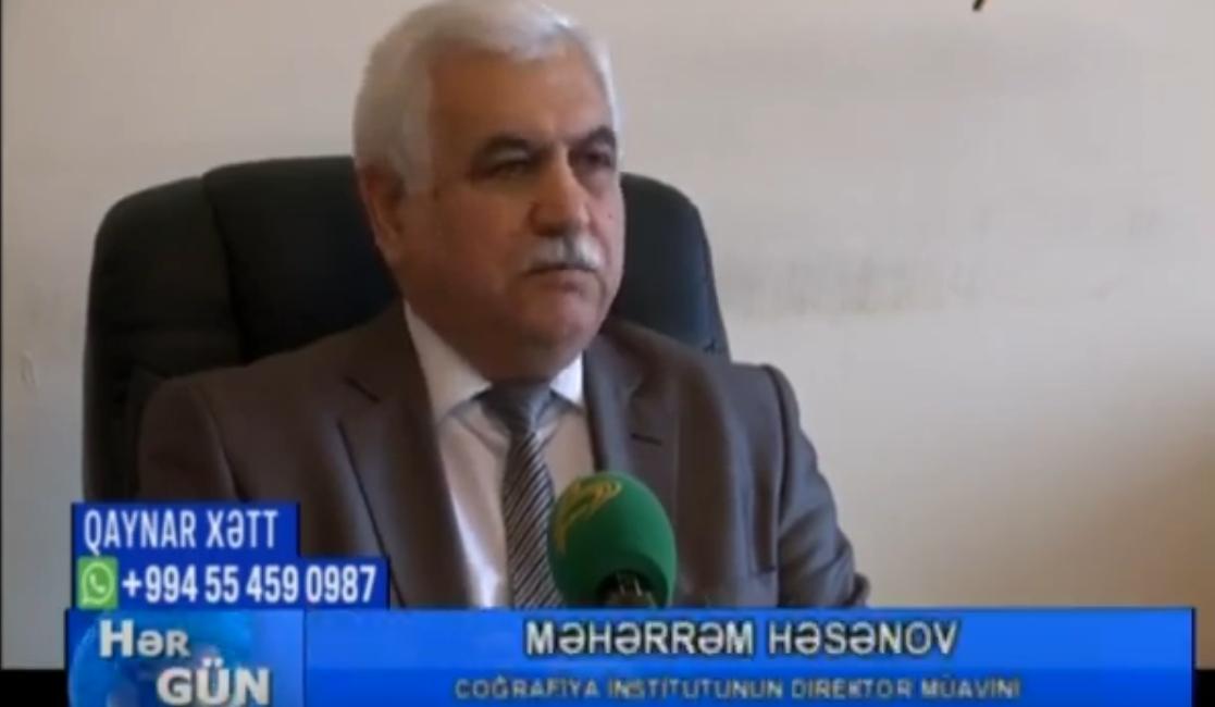 """Məhərrəm Həsənov """"Təhlükəli hava şəraiti..."""" Spase TV,17.01.2019"""