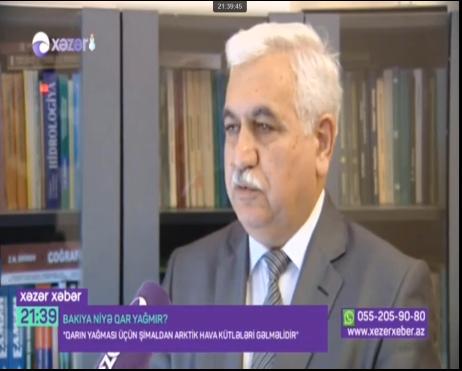 """Məhərrəm Həsənov """"Bakıya niyə qar yağmır..."""" Xəzər Tv.Yanv.2019"""