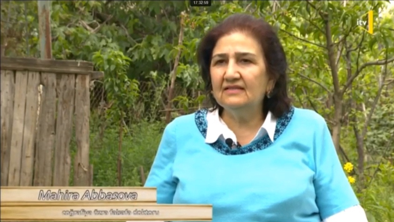 C.ü.f.d. Mahirə Abbasova Abşeron yer adları haqqında