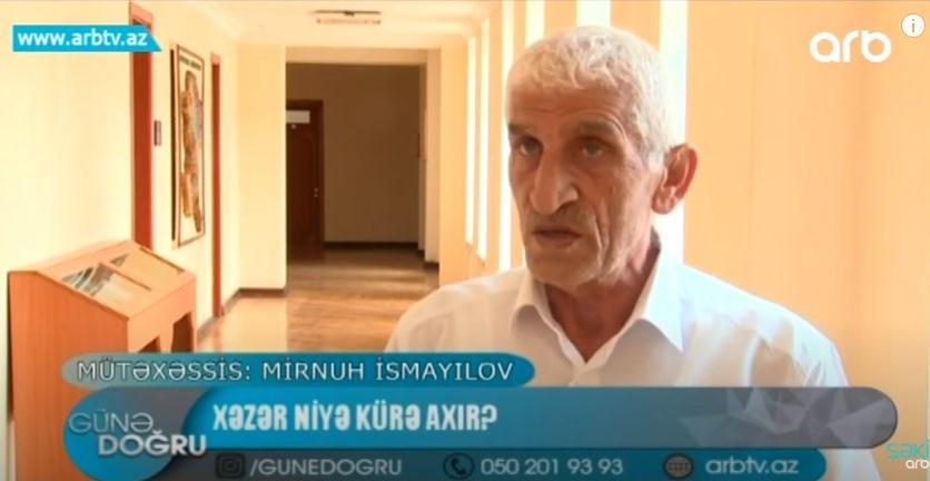 M.İsmayılov: Xəzər niyə Kürə axır?