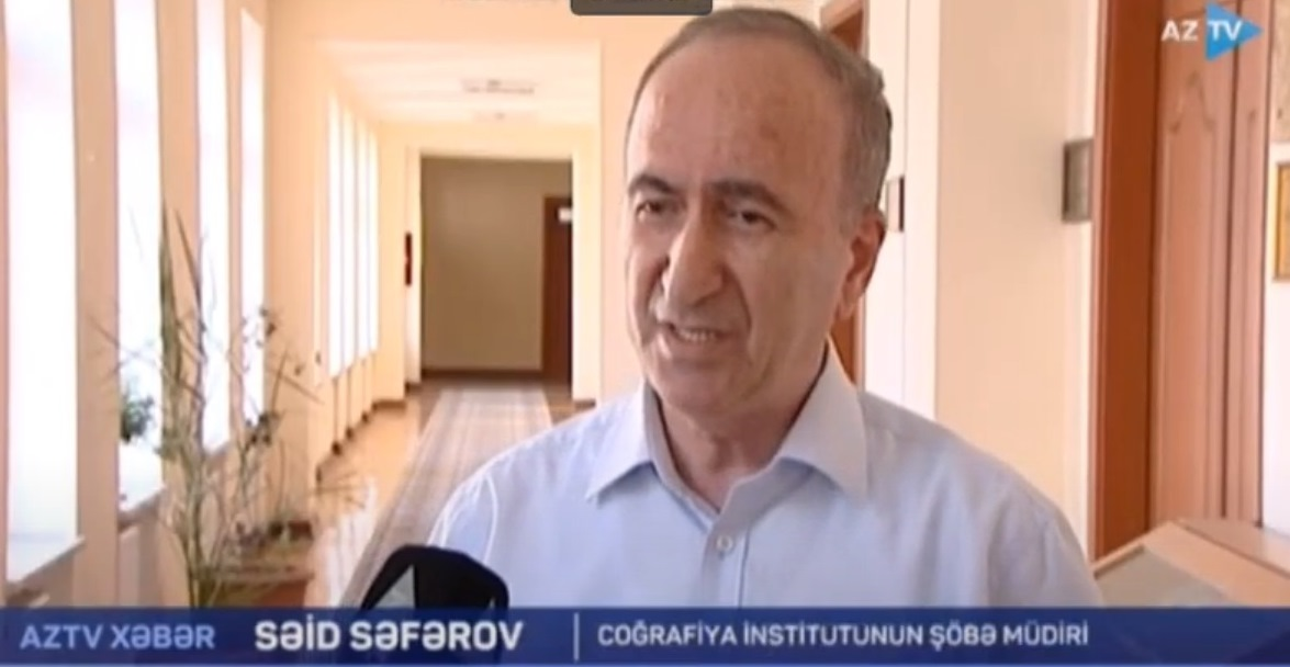 Səid Səfərov: Böyük təhlükə törədən meşə yanğınları