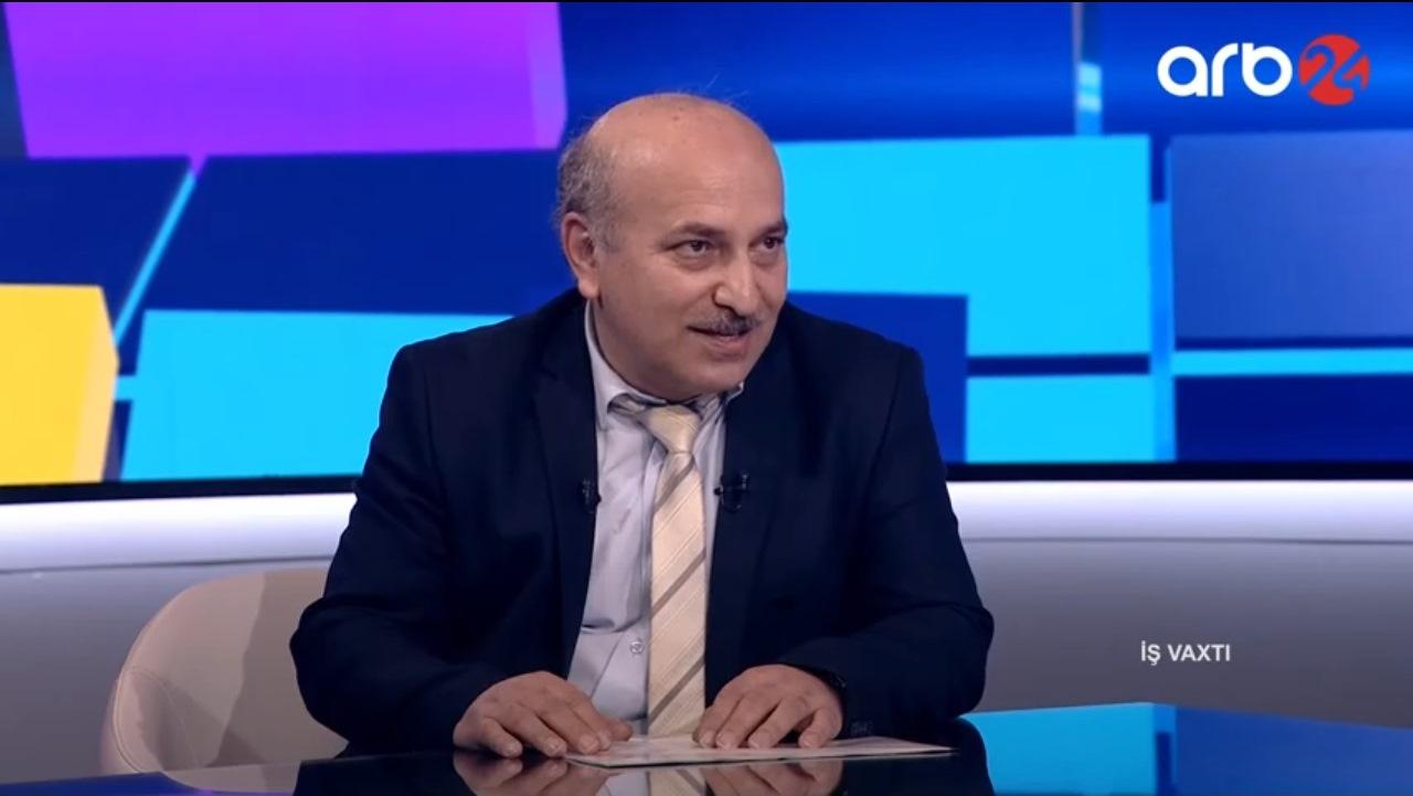 Eminov Zakir ARB24 kanalında yayımlanan İş Vaxtı proqramının qonağı olub.