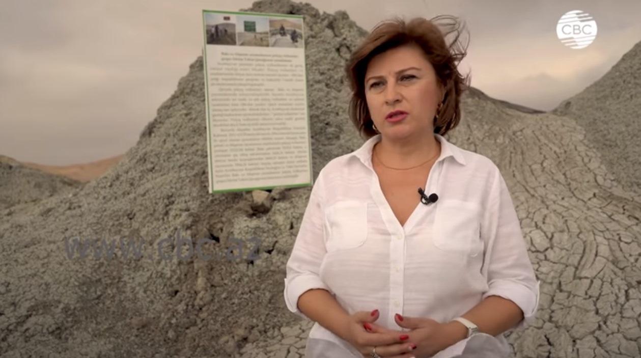 Coğrafiyaçı alim CBC TV kanalına palçıq vulkanları haqqında  müsahibəsi.