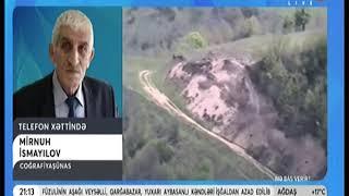 """M.İsmayılov ARB24-də yayımlanan """"Nə Baş verir?"""" verlişinə telefon bağlantısı ilə müsahibə verib."""