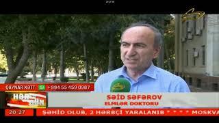 Səid Səfərov. Maqnit qasırğası gözlənilir.